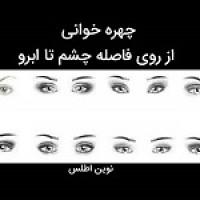 چهره خوانی ( شخصیت شناسی): فاصله ی چشم ها تا ابرو