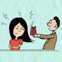 تشنه نگه داشتن زن