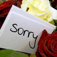 روش معذرت خواهی