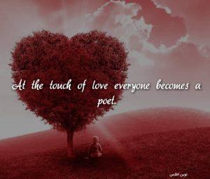 عکس نوشته پروفایل انگلیسی عاشقانه و شاعرانه ی زیبا